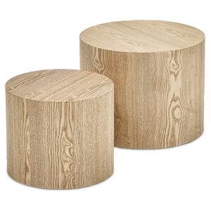 Комплект кофейных столов Amato Wood Coffee Table