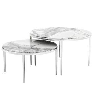 Комплект кофейных столов Eichholtz Coffee Table Fredo set of 2