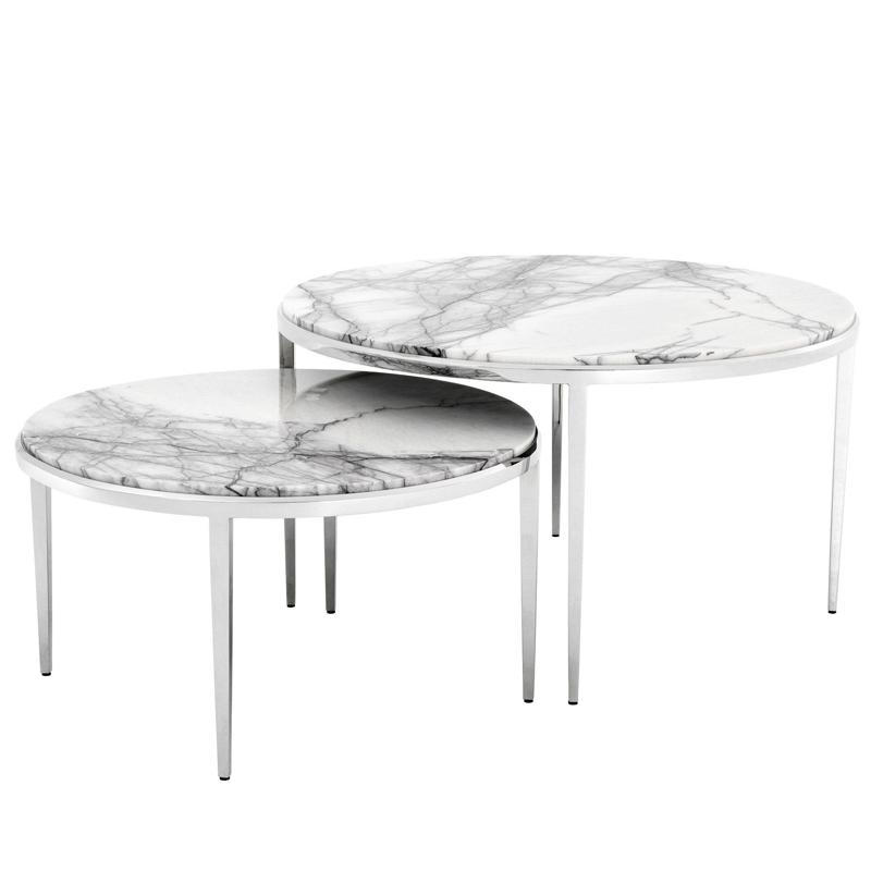 Комплект кофейных столов Eichholtz Coffee Table Fredo set of 2  - фото 1