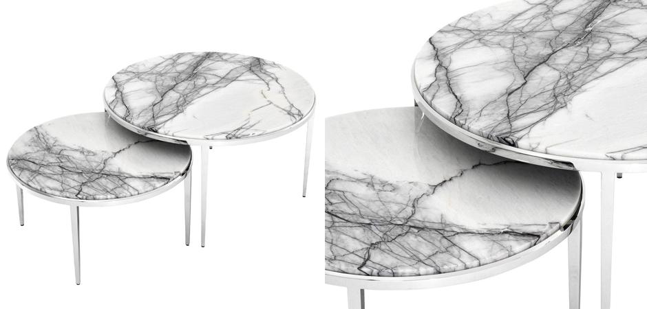 Комплект кофейных столов Eichholtz Coffee Table Fredo set of 2  - фото 2