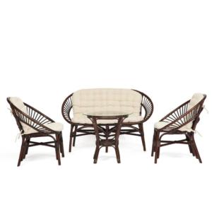 Комплект плетеной мебели Ivory