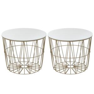 Комплект приставных столов Nieves Gold Table