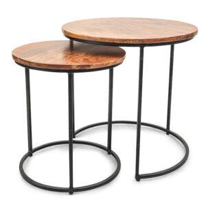 Комплект приставных столов Stafford Table darker