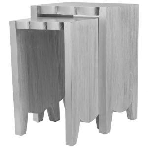 Комплект столиков UTTERMOST IMALA NATURAL ASH NESTING TABLE SET OF 2