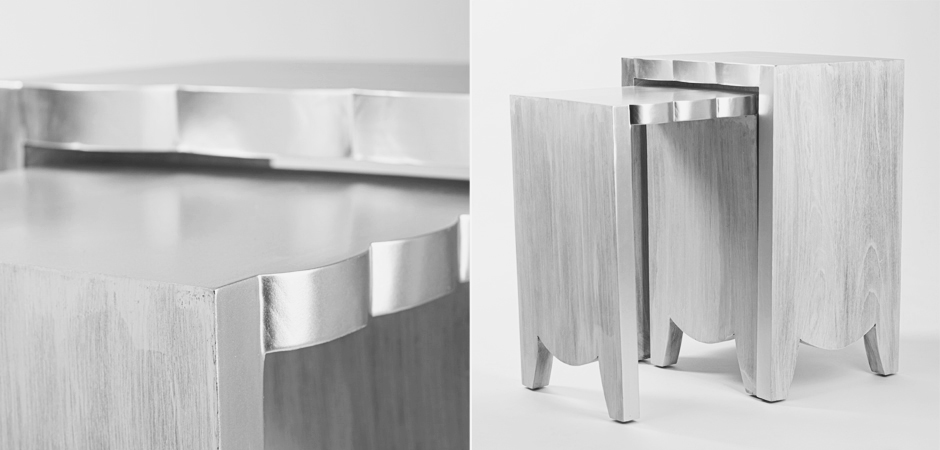 Комплект столиков UTTERMOST IMALA NATURAL ASH NESTING TABLE SET OF 2  - фото 2