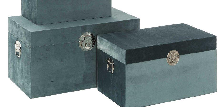 Комплект сундуков Turquoise Texture  - фото 2