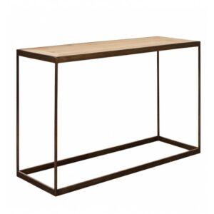 Консоль Industrial Oak Console Table