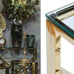 Консоль Serene Furnishing Gold Clear Glass Top Console   - фото 2