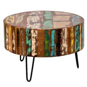 Журнальный стол Multicolored Antique Wood Circle