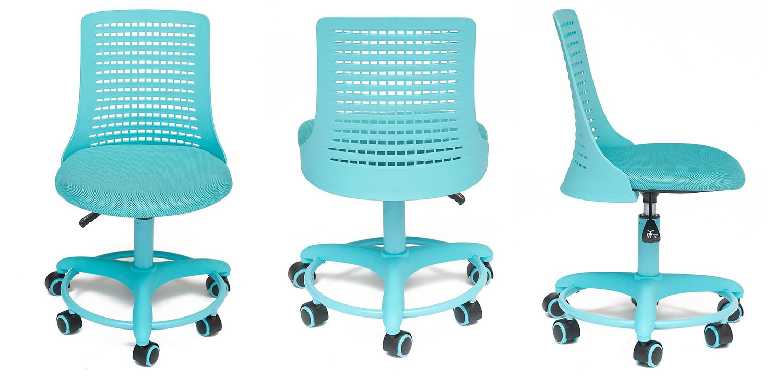 Кресло Bright Kiddie Office Chair blue  - фото 2