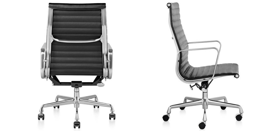 Кресло Eames Aluminum Group Executive Chair  designed by Charles and Ray Eames  in 1958 - фото 4