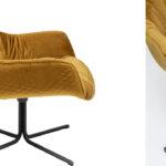 Кресло вращающееся Yellow Honeycomb  - фото 2