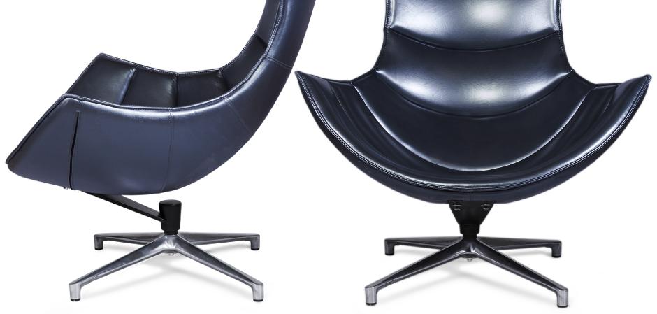 Кресло Shell blue  - фото 2