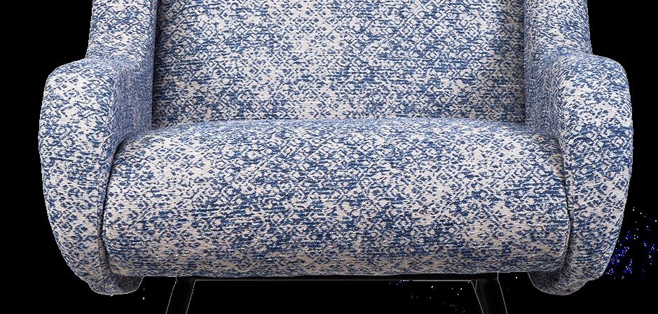 Кресло Sofia blue  - фото 2