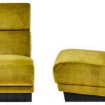 Кресло Berkeley Chair Mustard  - фото 3