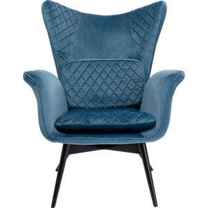 Кресло Blue Velvet Throne