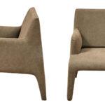 Кресло Callum Armchair light brown  - фото 3