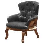Кресло Capitone Loft Chair Grifite  - фото 1