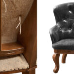 Кресло Capitone Loft Chair Grifite  - фото 3