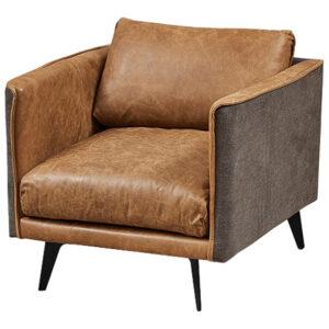 Кресло Caramel Leather & Textiles Armchair