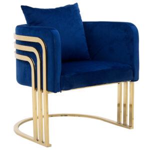 Кресло Custodia Armchair Blue