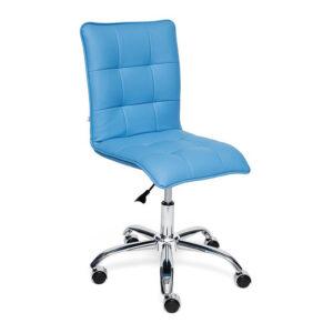 Кресло Deborah eco-leather light blue