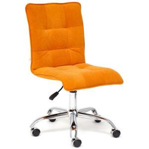 Кресло Deborah flock orange