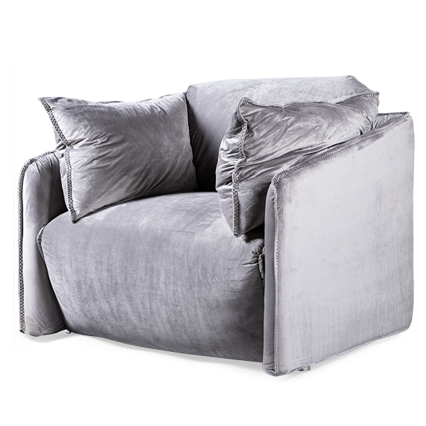 Кресло Defo siver  - фото 1