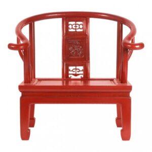 Кресло для медитации Chinese Armchair Red