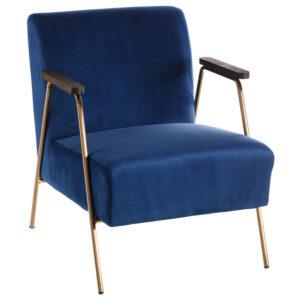 Кресло Domitila Armchair blue