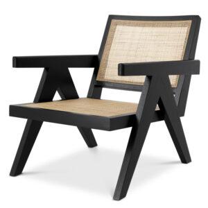 Кресло Eichholtz Chair Aristide black
