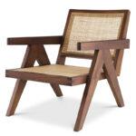 Кресло Eichholtz Chair Aristide brown  - фото 1
