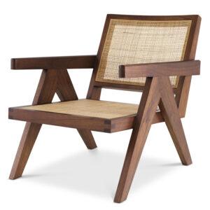 Кресло Eichholtz Chair Aristide brown