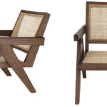 Кресло Eichholtz Chair Aristide brown  - фото 3