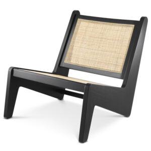 Кресло Eichholtz Chair Aubin black
