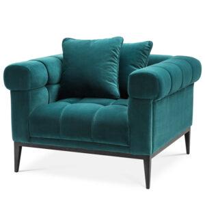 Кресло Eichholtz Chair Aurelio sea green
