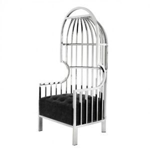 Кресло Eichholtz Chair Bora Bora Stainless Steel