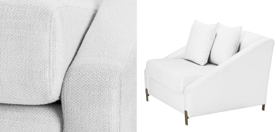Кресло Eichholtz Chair Candice white  - фото 2