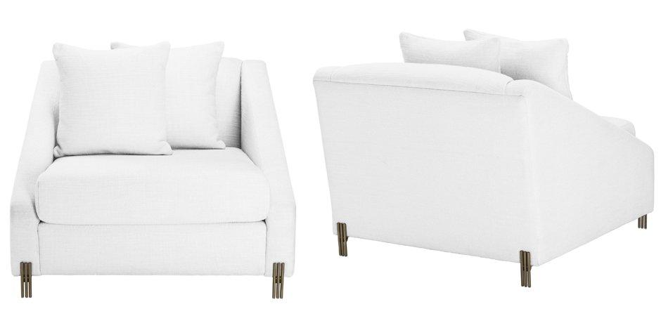 Кресло Eichholtz Chair Candice white  - фото 3