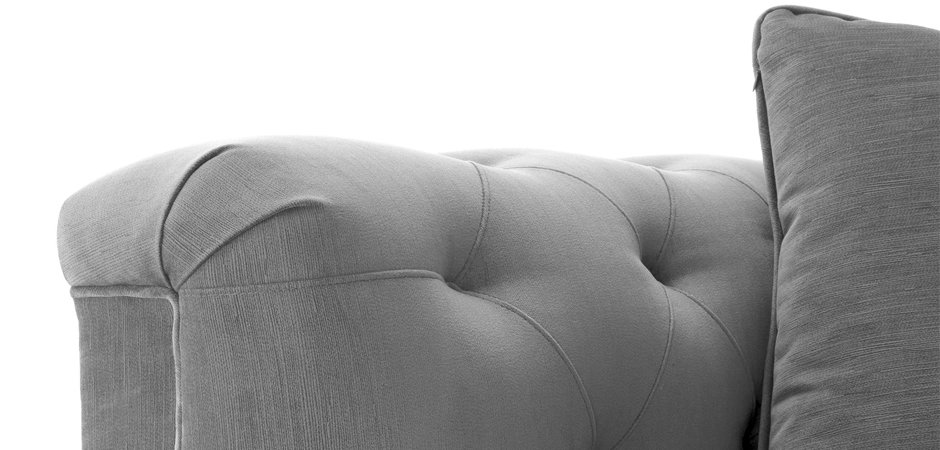 Кресло Eichholtz Chair Cesare Grey  - фото 3