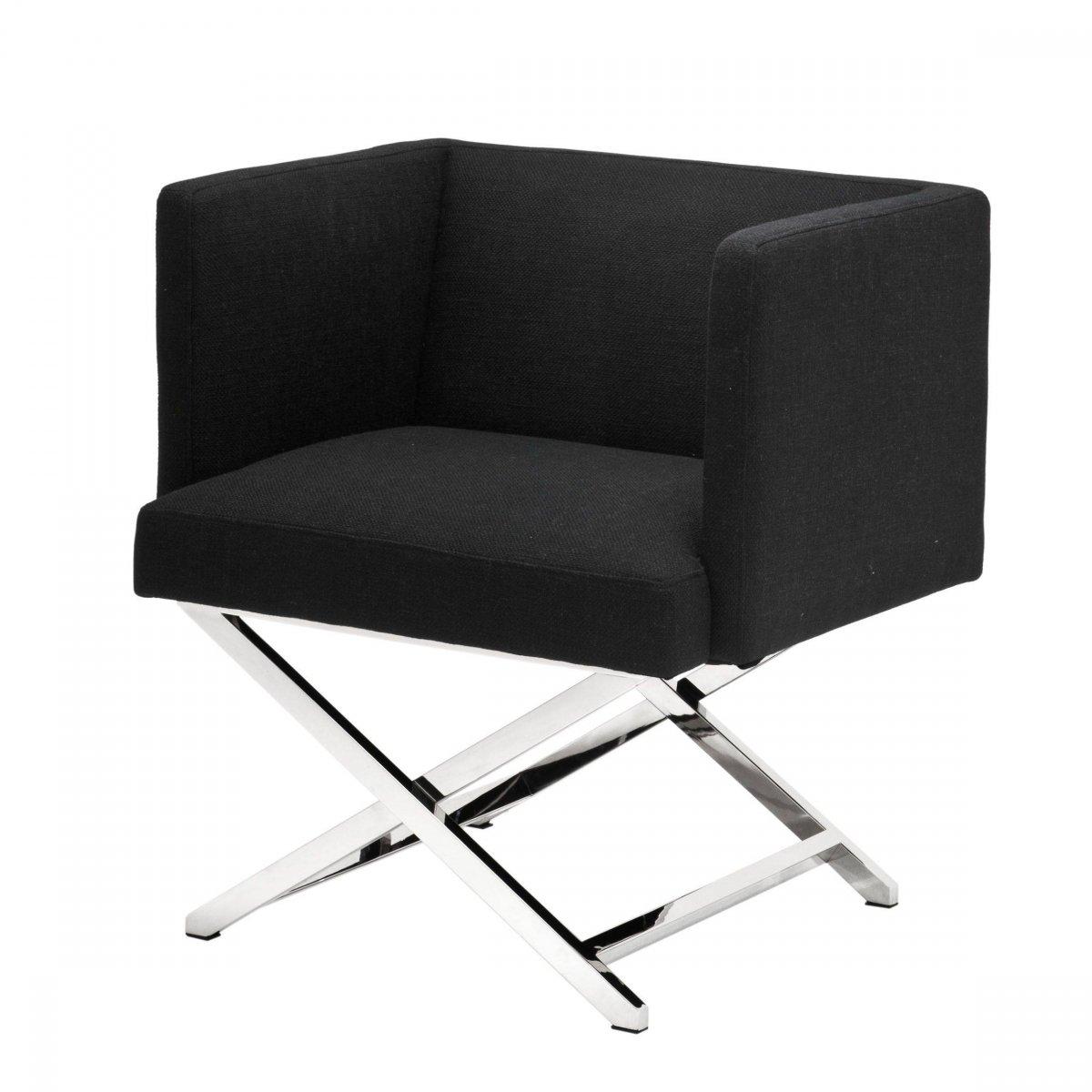 Кресло Eichholtz Chair Dawson Black  - фото 1