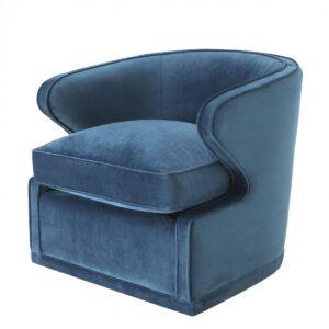 Кресло Eichholtz Chair Dorset Blue