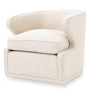 Кресло Eichholtz Chair Dorset Boucle cream