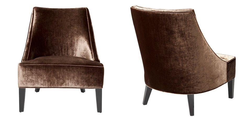 Кресло Eichholtz Chair Dulwich Aegean orange  - фото 2