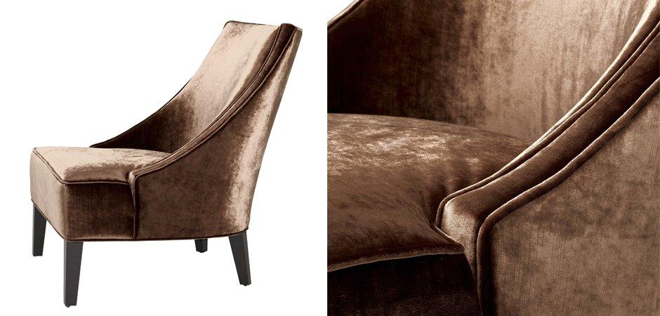 Кресло Eichholtz Chair Dulwich Aegean orange  - фото 3