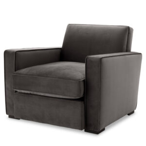 Кресло Eichholtz Chair Edmond grey