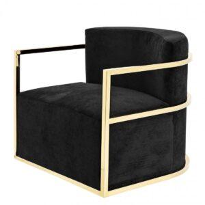 Кресло Eichholtz Chair Emilio Gold