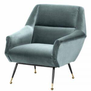 Кресло Eichholtz Chair Exile Turquoise