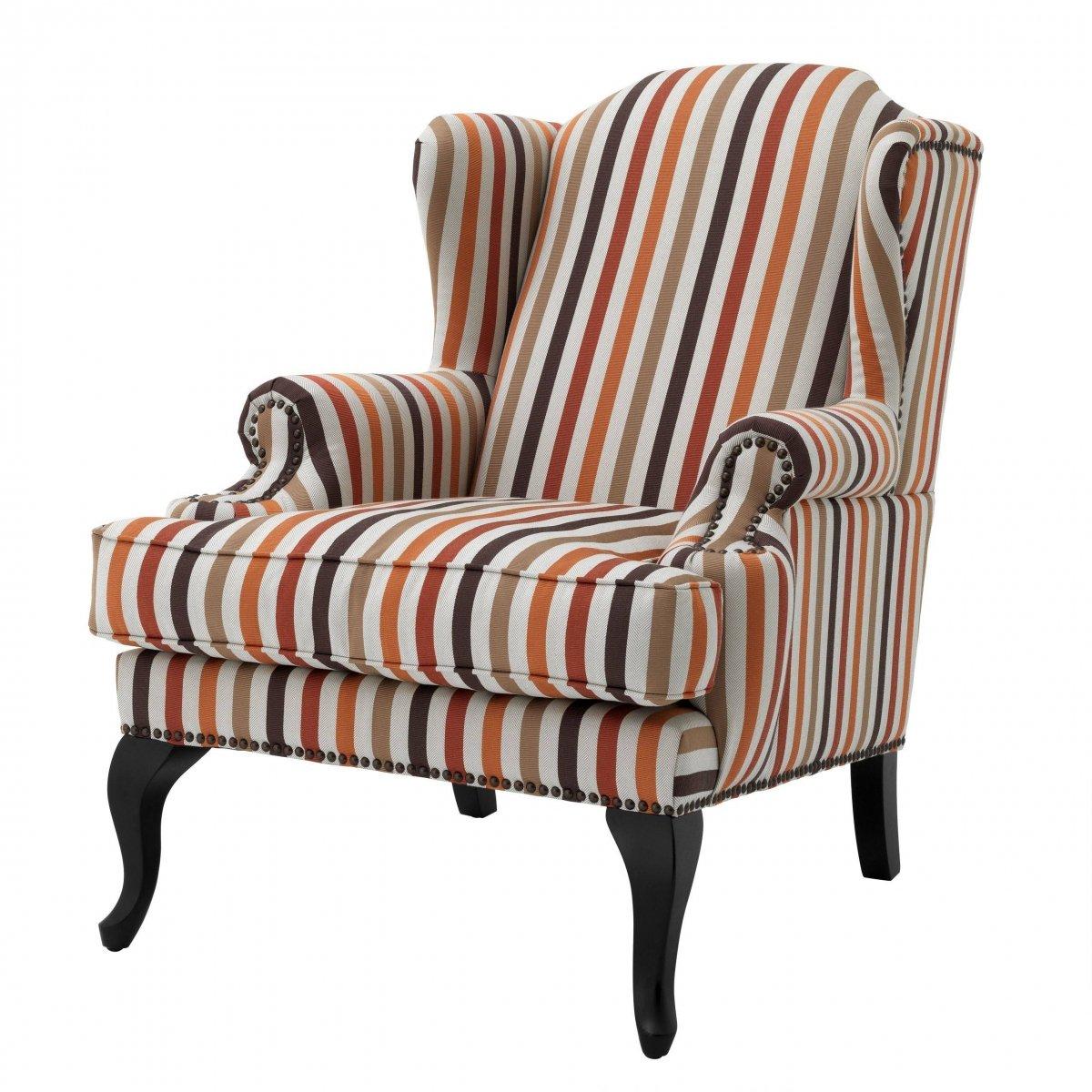 Кресло Eichholtz Chair Frank Sinatra Haywood orange  - фото 1