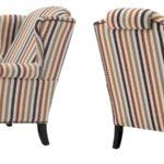Кресло Eichholtz Chair Frank Sinatra Haywood orange  - фото 2